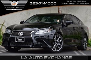 2014 Lexus GS 350  Carfax 1-Owner  Black 42076 Per Month -ON APPROVED CREDIT--- ---