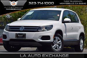 2013 Volkswagen Tiguan S Carfax 1-Owner Audio  Cd Player Audio  Mp3 Player Convenience  Adju