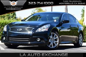 2013 Infiniti G37 Sedan Journey Carfax Report - No Accidents  Damage Reported to CARFAX  Black