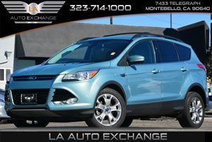 2013 Ford Escape SEL Carfax Report 2 2Nd Row Coat Hooks 4 Cylinders Audio  AmFm Stereo Aud