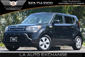 2014 Kia Soul Base Carfax 1-Owner - No Accidents  Damage Reported to CARFAX  Shadow Black  Al