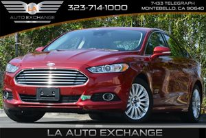2013 Ford Fusion Energi Titanium Carfax 1-Owner - No Accidents  Damage Reported to CARFAX Air Co
