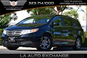 2012 Honda Odyssey EX Carfax 1-Owner 17 X 7 Alloy Wheels 2-Speed Variable Intermittent Winds