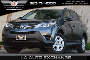 2013 Toyota RAV4 LE Carfax 1-Owner  Magnetic Gray Metallic 22244 Per Month -ON APPROVED CRED