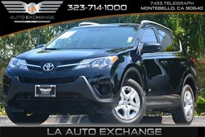 2014 Toyota RAV4 LE Carfax 1-Owner 5 Person Seating Capacity Body-Colored Grille WChrome Accent