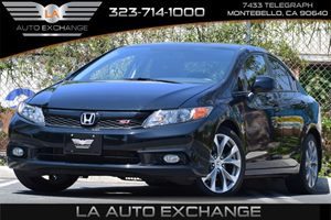 2012 Honda Civic Sdn Si Carfax 1-Owner - No Accidents  Damage Reported to CARFAX Advanced Compat