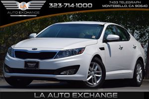 2013 Kia Optima LX Carfax 1-Owner  Snow White Pearl  All advertised prices exclude government