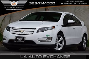 2013 Chevrolet Volt  Carfax 1-Owner Audio  Cd Player Audio  Mp3 Player Convenience  Adjustab