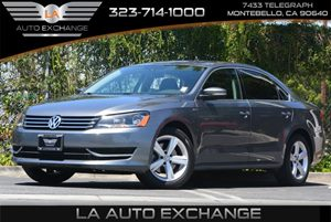 2014 Volkswagen Passat Wolfsburg Ed Carfax 1-Owner - No Accidents  Damage Reported to CARFAX Air