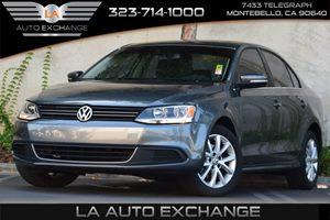 2013 Volkswagen Jetta Sedan SE wConvenienceSunroof Carfax 1-Owner  Moonrock Silver Metallic