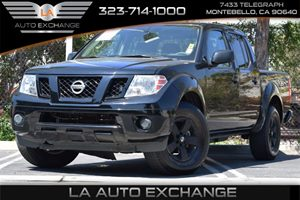 2012 Nissan Frontier SV Carfax 1-Owner  Super Black 24193 Per Month -ON APPROVED CREDIT--