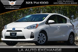 2013 Toyota Prius c Two Carfax 1-Owner 15 Steel Wheels WWheel Covers Adjustable FrontRear He