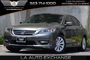 2013 Honda Accord Sdn EX-L Carfax 1-Owner - No Accidents  Damage Reported to CARFAX Advanced Com