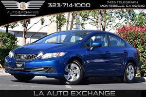 2014 Honda Civic Sedan LX Carfax 1-Owner Abs And Driveline Traction Control Airbag Occupancy Sen