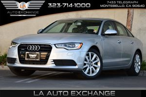 2015 Audi A6 20T Premium Carfax 1-Owner - No Accidents  Damage Reported to CARFAX  Ice Silver