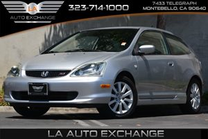 2005 Honda Civic Si  Carfax 1-Owner 4 Cylinders Audio  Cd Player Auxiliary Pwr Socket Body-Co