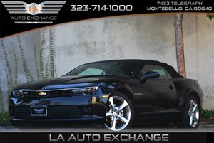 2015 Chevrolet Camaro LT Carfax 1-Owner - No Accidents  Damage Reported to CARFAX Air Conditioni