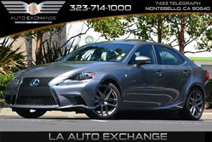 2014 Lexus IS 250  Carfax 1-Owner - No Accidents  Damage Reported to CARFAX Abs And Driveline Tr