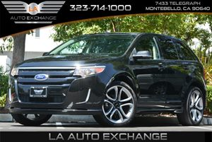 2013 Ford Edge Sport Carfax 1-Owner 8 CupBottle Holders Air Conditioning  Multi-Zone AC Au
