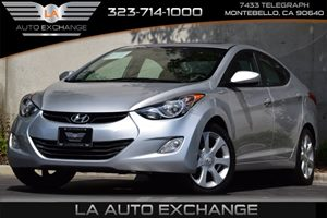 2013 Hyundai Elantra Limited Carfax 1-Owner - No Accidents  Damage Reported to CARFAX Child Rear