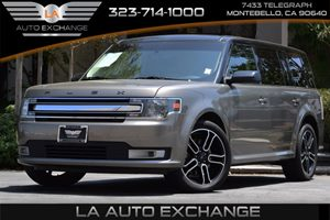 2014 Ford Flex SEL Carfax 1-Owner 19 Gal Fuel Tank 339 Axle Ratio Airbag Occupancy Sensor Co