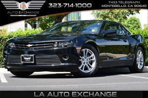 2015 Chevrolet Camaro LT Carfax 1-Owner 6 Cylinders Air Conditioning  AC Audio  AmFm Stereo