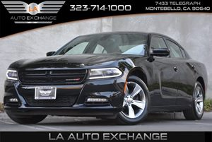 2016 Dodge Charger SXT Carfax 1-Owner 5 Person Seating Capacity Body-Colored Front Bumper Clear