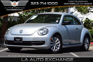 2014 Volkswagen Beetle Coupe 18T Entry Carfax 1-Owner 140 Amp Alternator 387 Axle Ratio Conve