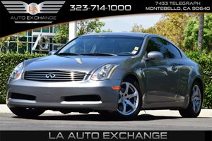 2005 Infiniti G35 Coupe  Carfax Report Convenience  Adjustable Steering Wheel Convenience  Cru