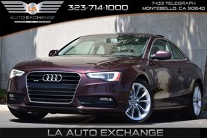 2014 Audi A5 Premium Plus Carfax 1-Owner - No Accidents  Damage Reported to CARFAX 150 Amp Alter