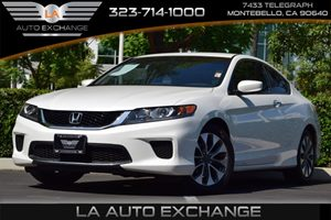 2013 Honda Accord Cpe LX-S Carfax 1-Owner - No Accidents  Damage Reported to CARFAX Brake Assist