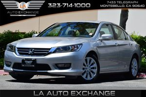 2013 Honda Accord Sdn EX-L Carfax 1-Owner Brake Assist Child-Proof Rear Door Locks Convenience