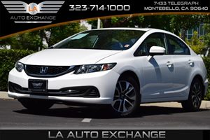 2015 Honda Civic Sedan EX Carfax 1-Owner - No Accidents  Damage Reported to CARFAX 132 Gal Fue