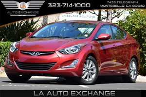 2016 Hyundai Elantra SE Carfax 1-Owner - No Accidents  Damage Reported to CARFAX  Venetian Red