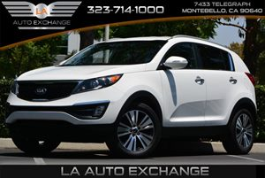 2015 Kia Sportage EX Carfax 1-Owner 3 12V Dc Power Outlets 4 Cylinders 5 Person Seating Capacit