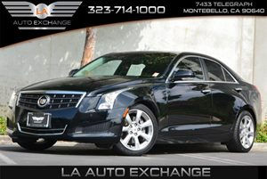 2013 Cadillac ATS Luxury Carfax 1-Owner 6 Cylinders Air Conditioning  AC Audio  AmFm Stereo