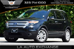 2014 Ford Explorer XLT Carfax 1-Owner 2 Seatback Storage Pockets 6 Cylinders Audio  AmFm Ster