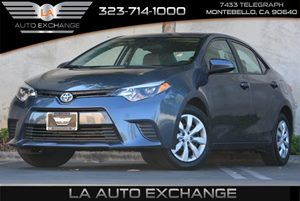 2016 Toyota Corolla LE Carfax Report - No AccidentsDamage Reported  Blue  All advertised pric