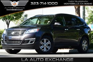 2016 Chevrolet Traverse LT Carfax 1-Owner  Gray  All advertised prices exclude government fees