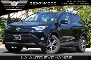 2016 Toyota RAV4 XLE Carfax 1-Owner 3815 Axle Ratio Convenience  Back-Up Camera Convenience