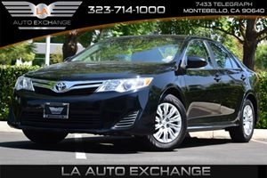 2014 Toyota Camry LE Carfax 1-Owner Fuel Capacity  17 Gal Tank Fuel Economy  25 Mpg City  35