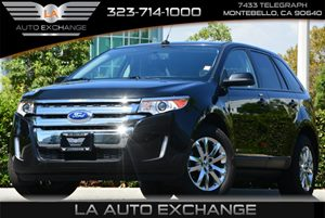2013 Ford Edge SEL Carfax Report - No AccidentsDamage Reported  Tuxedo Black Metallic  All ad