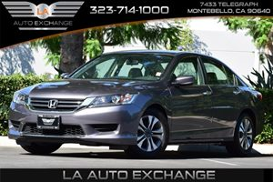 2014 Honda Accord Sedan LX Carfax 1-Owner Convenience  Automatic Headlights Convenience  Secur