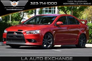 2015 Mitsubishi Lancer Ralliart Carfax 1-Owner - No Accidents  Damage Reported to CARFAX Back-Up