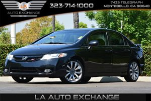 2009 Honda Civic Sdn Si Carfax Report - No AccidentsDamage Reported 12V Pwr Outlets-Inc 1 Fro