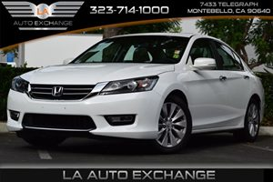 2013 Honda Accord Sdn EX Carfax 1-Owner Brake Assist Front Wheel Drive Fuel Capacity  172 Gal