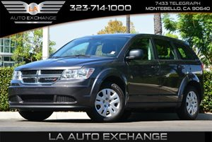 2014 Dodge Journey American Value Pkg Carfax Report - No AccidentsDamage Reported  Gray  All
