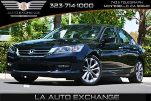 2014 Honda Accord Sedan Sport Carfax 1-Owner 4 Cylinders 5 Person Seating Capacity Air Conditio