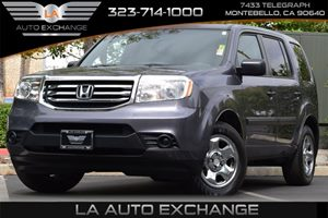 2015 Honda Pilot LX Carfax 1-Owner 130 Amp Alternator 4312 Axle Ratio Front And Rear Anti-Roll