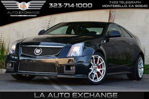 2014 Cadillac CTS-V Coupe  Carfax 1-Owner - No AccidentsDamage Reported Child Seat Restraint Sys